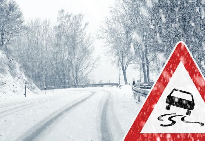 Megfelelő sebesség télen