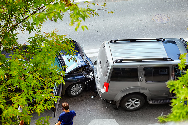 ráfutásos baleset