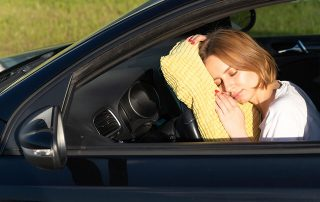 fáradtan ne vezess
